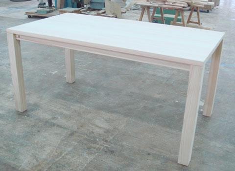 無垢ひのき食堂テーブル