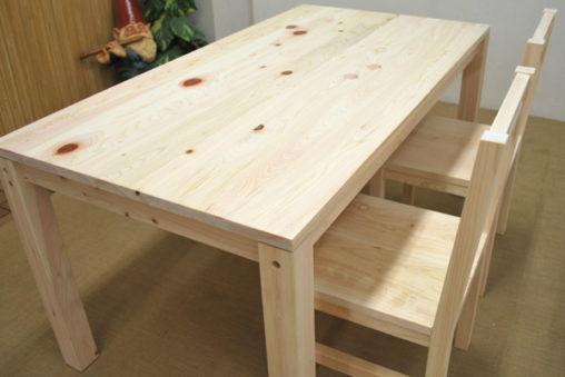 ひのきテーブル