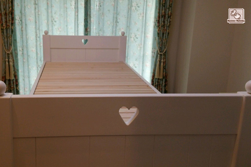真白ロフトベッド