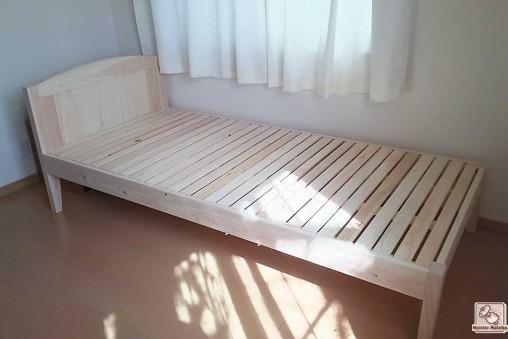 ひのきベッド シングル