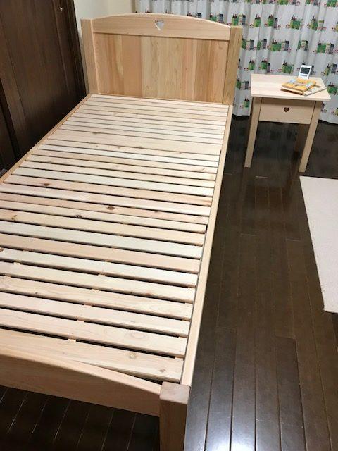 ひのきオーダーベッド
