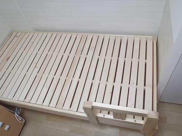 無垢ひのきベッド