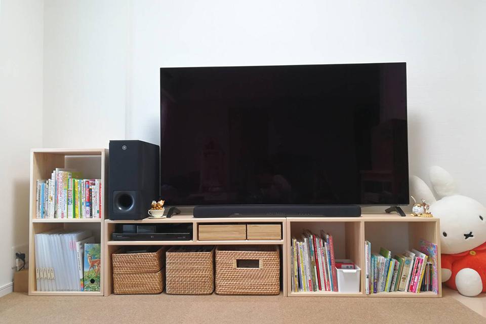 ひのきテレビ台