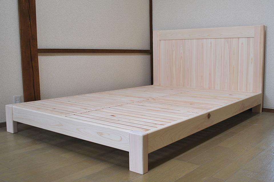 厚み30cmのマットレス用のベッド購入のお客様より1804009
