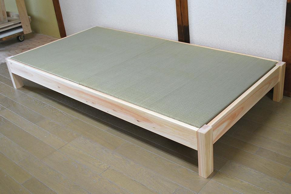 無垢ひのき ひのき畳ベッド