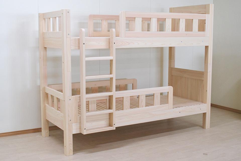 ピッタリサイズのベッドでしかも総檜で、いいお買い物ができました。