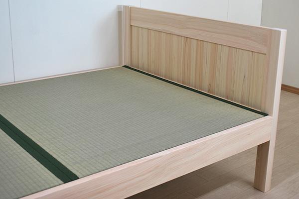 ひのき畳ベッド 寝台高さ40cm 1909039