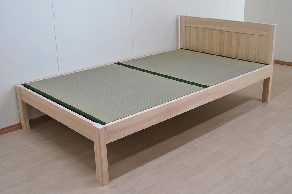 畳ベッド購入のお客様より とても素敵なベッドで、喜んでいます。って