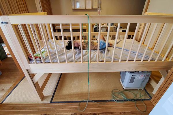ひのき訓練ベッド