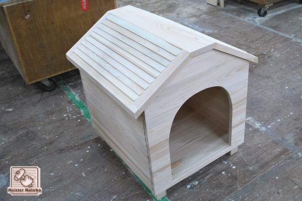 無垢ひのき犬小屋