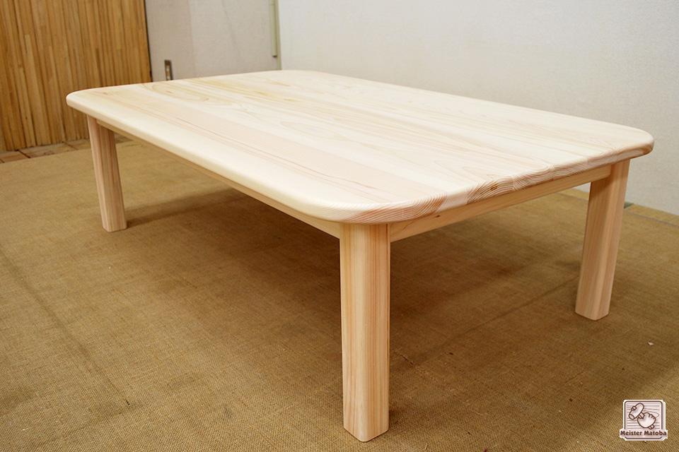 無垢ひのきミニテーブル