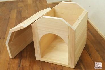 小型犬用 ひのき犬小屋 NO1409035