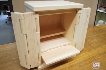 無垢ひのき仏壇 メモリアルBOX NO1502019