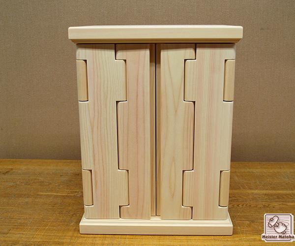 ひのき仏壇 幅約30cm メモリアルBOX