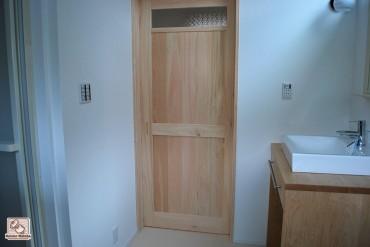 木製無垢かえで洗面台 NO1503032-3