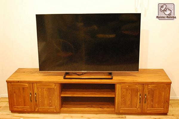 無垢ひのきテレビ台180cm