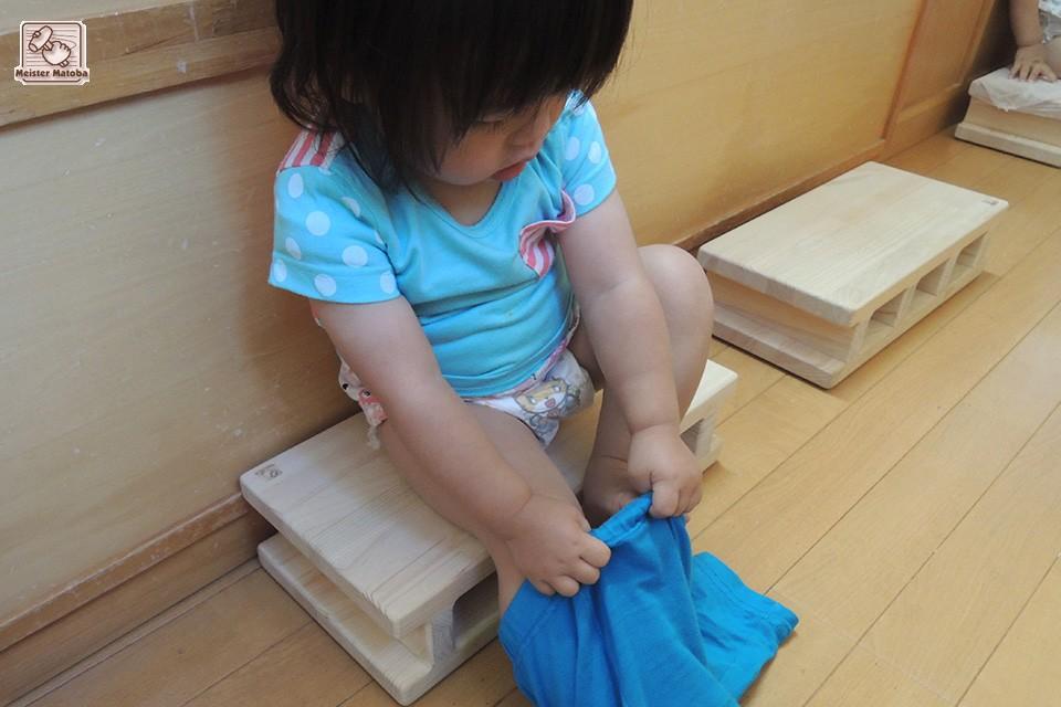 ひのきブロック 保育園での活用方法 NO1505025