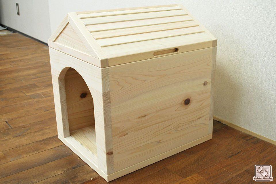 ひのき犬小屋  幅38cm高さ50cm NO1612027