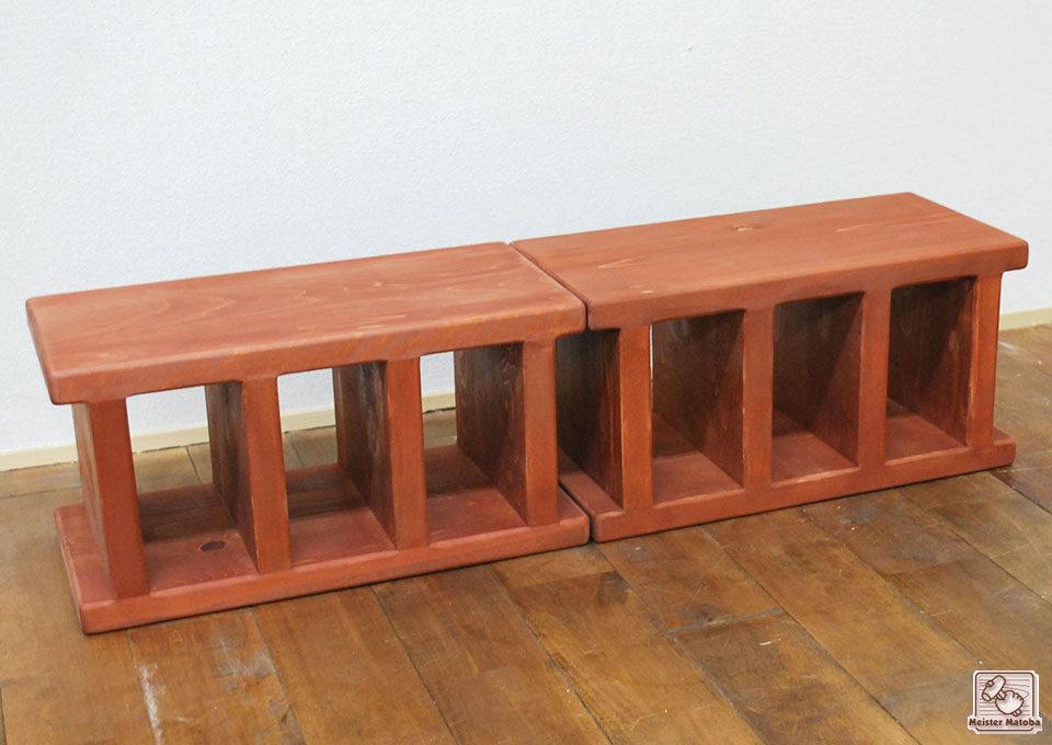 ひのきブロックのサイズ変更商品 NO1706003