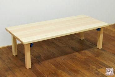 無垢ひのき折りたたみテーブル 経机 NO1708019
