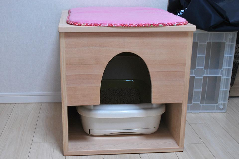 猫用 トイレハウス