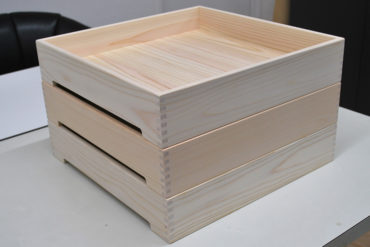 ひのき食材箱 幅40cm 高さ8cm 1803005