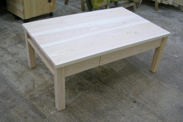 無垢ひのき文机 テーブル 050210