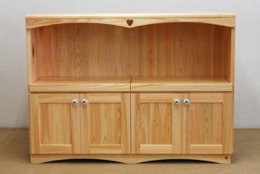 ミドル高さのキッチン収納棚レンジ台にも 20090124