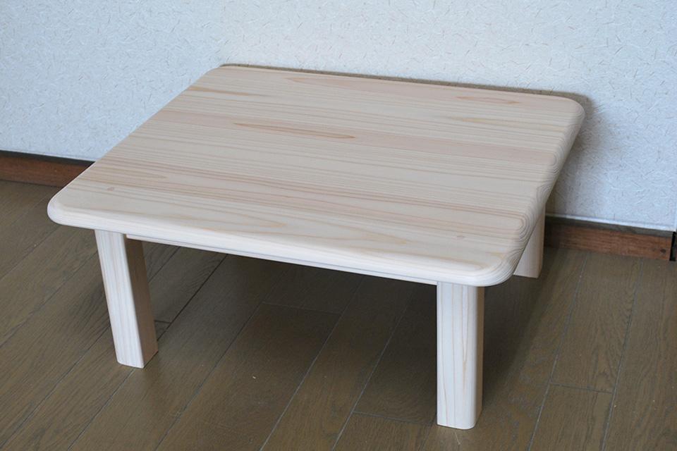 ひのきテーブル 子供用テーブル