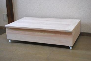 伸縮ベッド下に ベッド下収納ボックス NO1807019