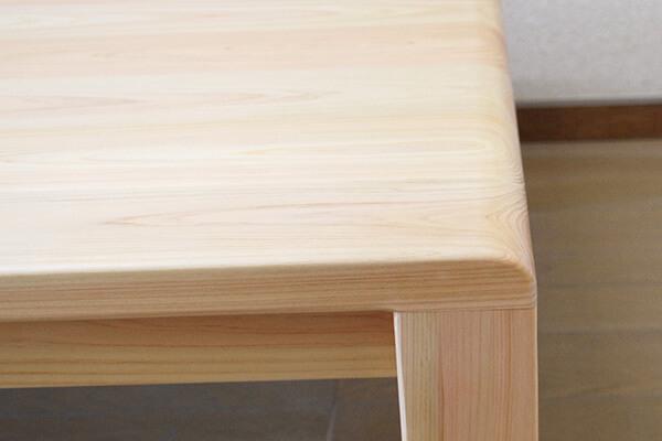 無垢ひのきテーブル