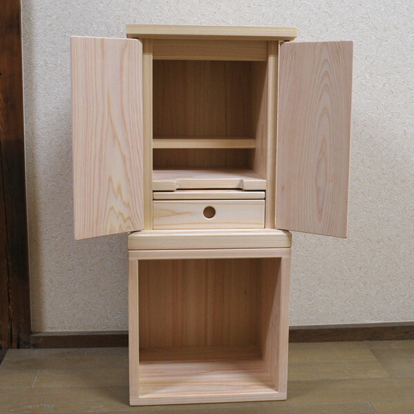 ひのき仏壇記憶の箱