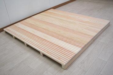ひのき玄関すのこ サイズ変更幅115cm×103cm 1905039