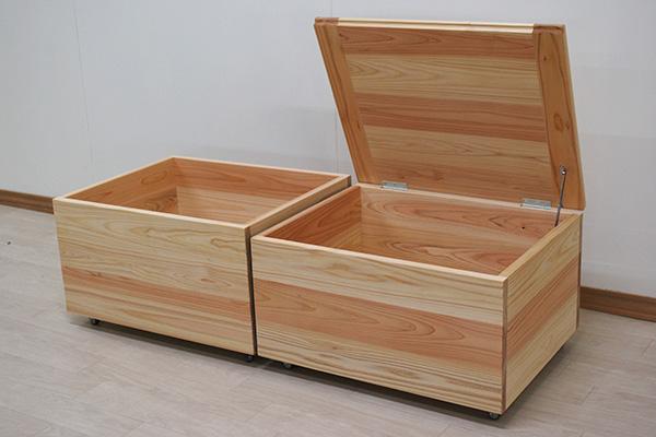パントリー下収納ボックスオーダー品