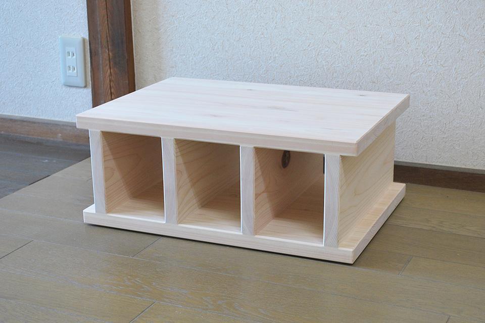 オーダーサイズの大きい木製ひのきブロック 1907028