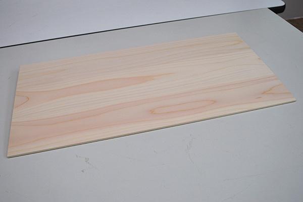 木製ひのき傾斜板 緩やかな傾斜