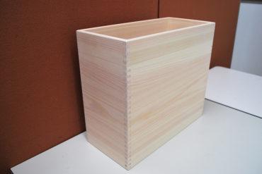 ひのき深めの小箱 35×17 高さ32cm 1909024