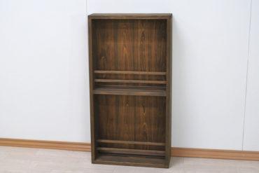 薄型マガジンラック ひのき家具オーダー品 1908021-1