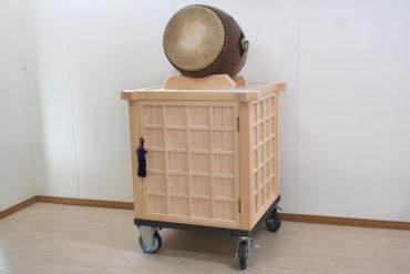 お祭りの太鼓を乗せる台 祭り引き台 1909036