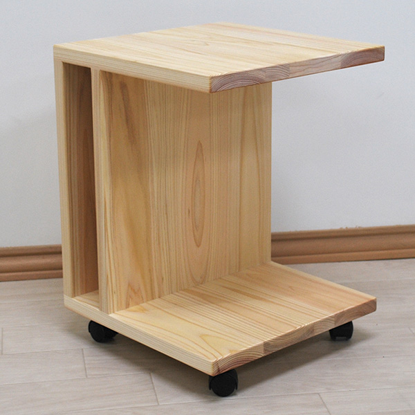 ベッドの横やソファーの横にあると便利な サイドテーブル 1910040-2