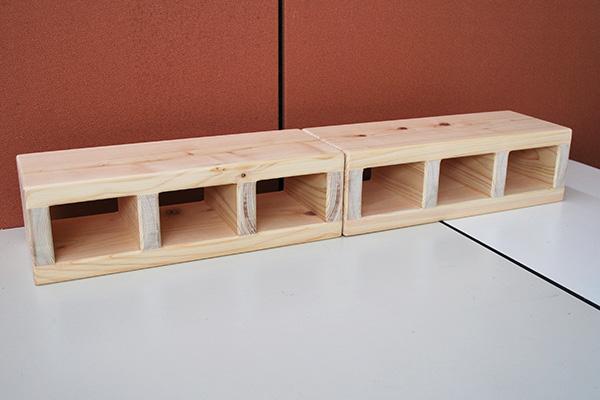 高さ12cmのひのきブロック NO2001022
