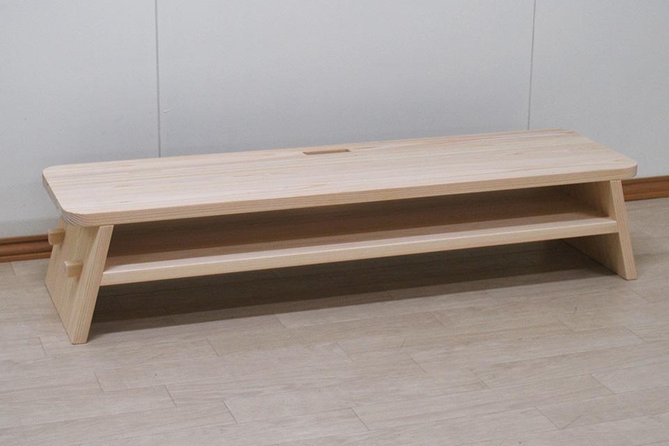 テーブルのようなシンプルなテレビ台幅120cm NO2006053