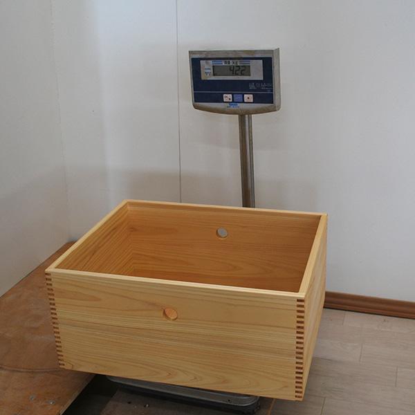ひのき収納ボックス